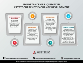 Importance of Liquidity in Cryptocurrency Exchange Development