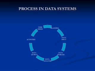 PROCESS IN DATA SYSTEMS