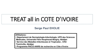 TREAT all in COTE D'IVOIRE