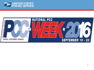 2016 National PCC Week Events