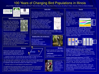 100 Years of Changing Bird Populations in Illinois