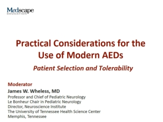 Practical Considerations for the Use of Modern AEDs