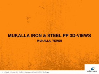 MUKALLA IRON & STEEL PP 3D-VIEWS