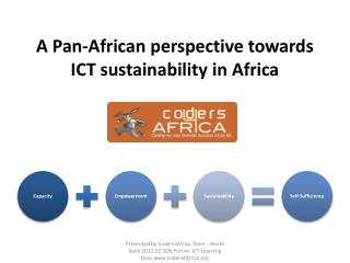 A Pan-African perspective towards ICT sustainability in Africa