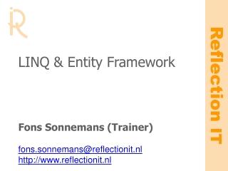 LINQ & Entity Framework