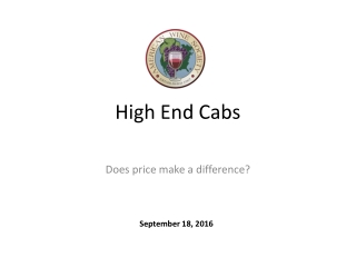 High End Cabs