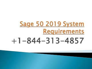 Sage 50 2019 System Requirements