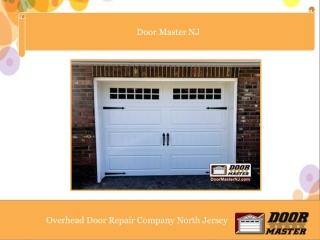 Overhead Door Repair Company North Jersey