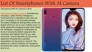 AI Camera Phone