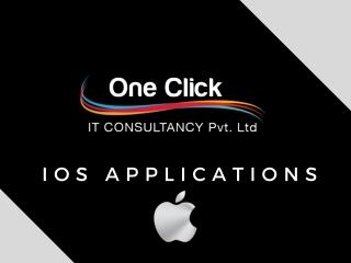 Ios App Development at OneClick IT Consultancy