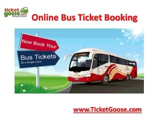 Bus Ticket Bookings