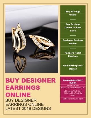 Buy Designer Earrings Online