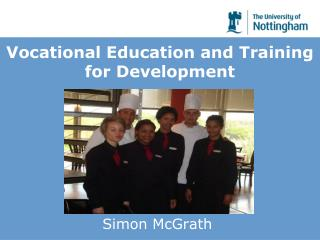 Vocational Education and Training  for Development