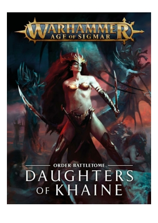 Battletome: Daughters of Khaine by Games Workshop