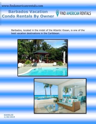 Barbados Vacation Condo Rentals By Owner