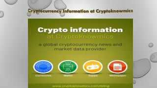 Read real-time cryptocurrency news – Cryptoknowmics