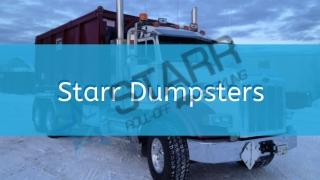 DumpsterRental Waldorf - Starr Dumpsters