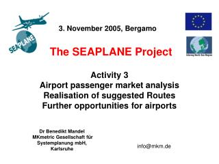 The SEAPLANE Project