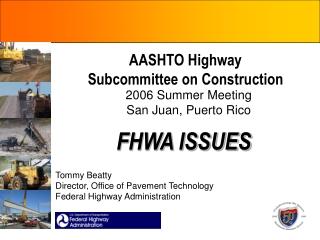 AASHTO Highway Subcommittee on Construction