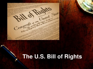 The U.S. Bill of Rights