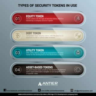 Different Types of Security Tokens to Raise Funds for Your Venture