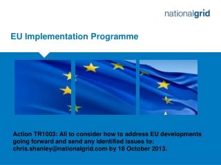EU Implementation Programme
