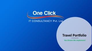 Travel portal development