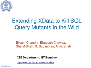 Extending XData to Kill SQL Query Mutants in the Wild