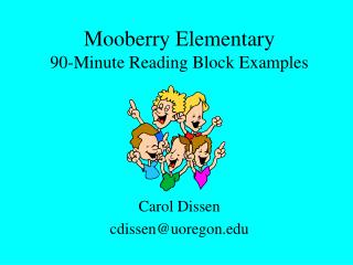 Mooberry Elementary 90-Minute Reading Block Examples
