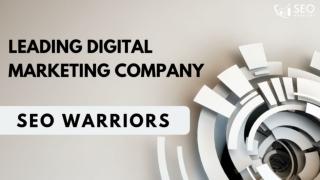 Best Digital Marketing Company in India - SEO Warriors