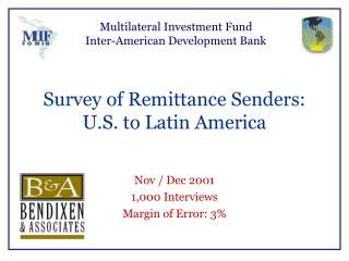 Multilateral Investment Fund  Inter-American Development Bank