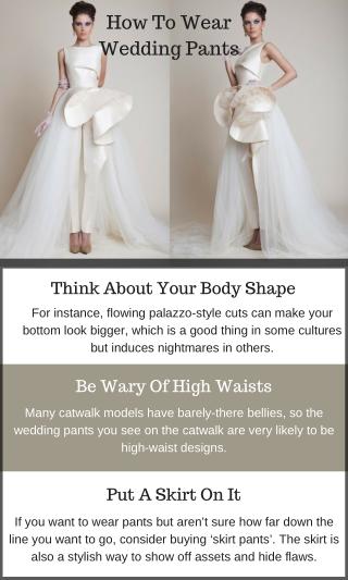 Wedding Pants Wear Some Tips