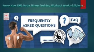 Know How EMS Body Fitness Training Workout Works-fullcircle