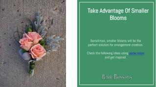 Use Bulk Spray Roses in Your Arrangments Creation