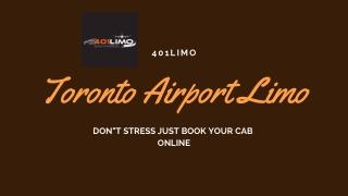 Toronto Airport Limo   401limo