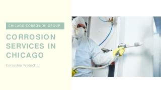 Corrosion Prevention Services in Chicago