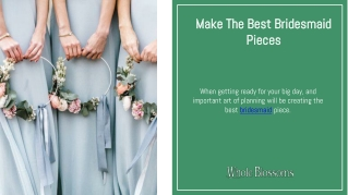Create Gorgeous Bridesmaid Bouquets for Wedding Day