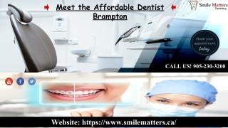 Need the Best Kids Dentistry in Brampton