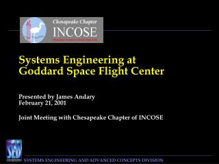 Systems Engineering at  Goddard Space Flight Center