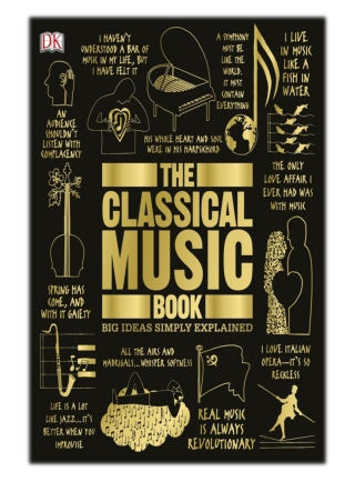 [PDF] Free Download The Classical Music Book By DK