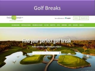Golf Breaks