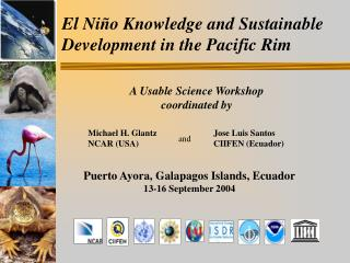 El Ni ñ o Knowledge and Sustainable     Development in the Pacific Rim