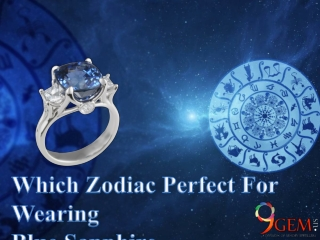 Which Zodiac Perfect For Wearing Blue Sapphire