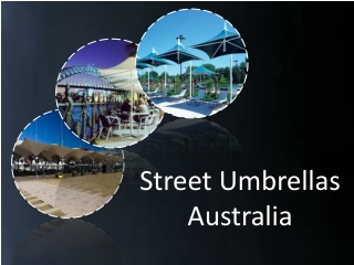 Architectural Umbrellas at Street Umbrellas Australia
