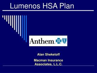 Lumenos HSA Plan
