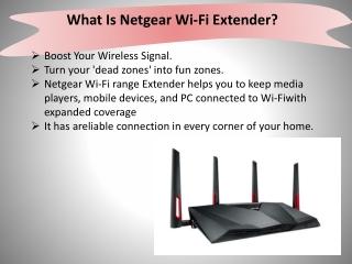 What Is Netgear Wi-Fi Extender?