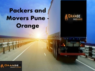 Professional Packers and Movers Services Provider in Pune