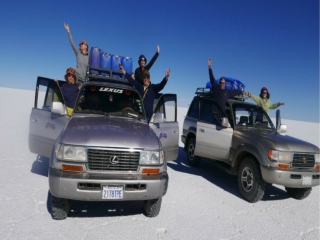 Salar De Tours in Uyuni Bolivia