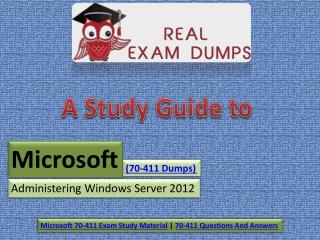 How to Improve Microsoft 70-411 2019 Updated Exam Dumps