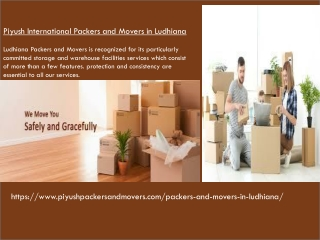Top Movers and Packers Ludhiana